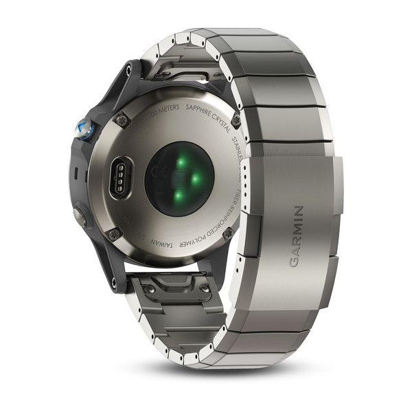 Relógio Garmin Quatix 5 Safira Gps Náutico Multiesportivo 010-01688-42