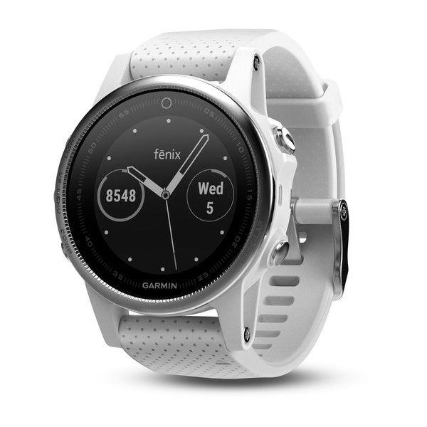 Relógio Gps Garmin Fenix 5s Branco - 010-01685-00