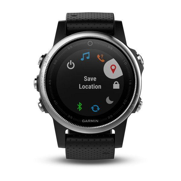 Relógio GPS Garmin Fenix 5S Preto - 010-01685-02