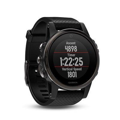 Relógio Gps Garmin Fenix 5s Safira Preto - 010-01685-11