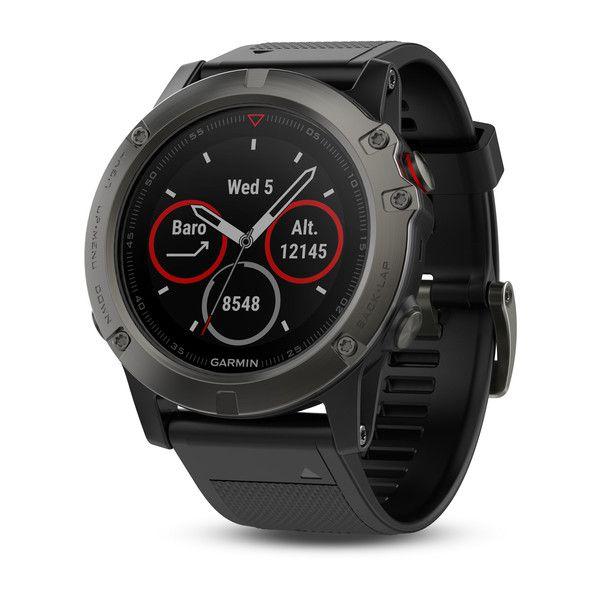 Relógio GPS Garmin Fenix 5X Safira Cinza - 010-01733-01