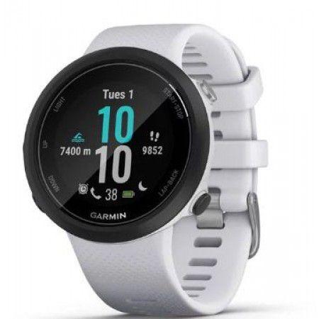 Relógio GPS Garmin Swim 2 Branco para Natação piscina e mar aberto 010-02247-11
