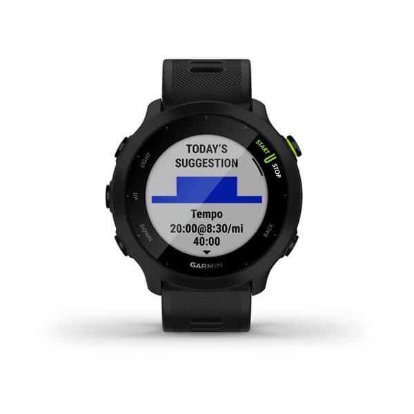 Smartwatch GPS Garmin Forerunner 55 Preto 010-02562-10