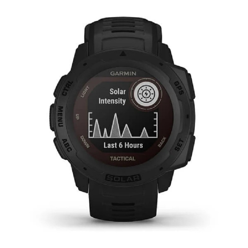 Smartwatch GPS Garmin Instinct Tactical Solar Preto 010-02293-03