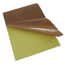 Manta Teflon 0,13mm 0,250m² 50 X 50cm Com Adesivo