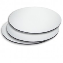 Mouse Pad Para Sublimação Redondo 188mm Diâmetro  Pct 10un