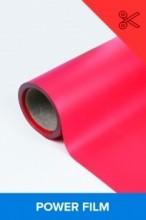 Power film brilhante vermelho  0,50m² (1/2 de m²)