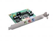 AX93242 - Placa de conversor de áudio HD com Bracket