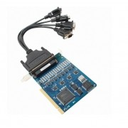 C104H/PCI-DB9M - Placa Multiserial Pci, Com 4 Portas Rs-232, Cabo Db9M Incluso