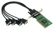 CP-104UL-DB25M - Placa Serial Pci Universal, Perfil Baixo, 4 Portas Rs-232, Inclui CaboDb25 Macho