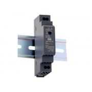 DDR-15 - Conversor DC/DC 15W Fixação Trilho DIN