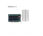 DIO-144 - Cartão Isa Digital, 144 Canais Entrada/Saída Ttl/5V, Não Isolados