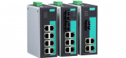 EDS-308-MM-ST - Switch Ethernet Industrial Nao Gerenciavel, 6X 10/100Baset(X), 2X100Basefx Multimodo, Conector St, Alim. Redundante