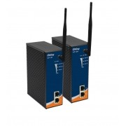 IAP-120 - Wirelles Industrial IEEE 802.11b/g Ap/Ponte/Repetidor/Cliente, Banda US, 2x 10/100BASET(X)