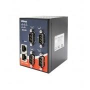 IDS-342 - Conversor Serial Ethernet Com 4X Rs232/422/485 E 2X 10/100Tx