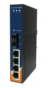 IES-1041FX-MM-SC - Switch Ethernet Industrial Não Gerenciável 5 Portas, 4x 10/100Base-T(X) e 1x 100Base-FX