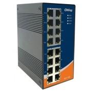 IES-1160 - Switch Ethernet Industrial Não Gerenciável 16 Portas 10/100Baset(X)