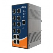 IGS-3044GC - Switch Ethernet Industrial Gerenciável Gigabit 8 Portas, 4X 10/100/1000Baset(X), 4X 10/100/1000Combo-Sfp/Rj45