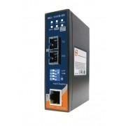 IMC-111FB-MM-SC - Conversor Industrial Ethernet 10/100Base-T(X) Para Fibra Ótica 100Base-Fx  Multi-Modo, Conector Sc