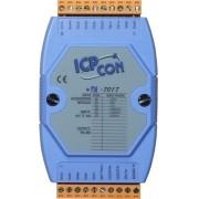 LR-7017 - Módulo Rs-485 ASCII, Analógico 16-BIT, 8 Entradas mV, V, mA
