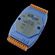 LR-7050 -Módulo RS-485 ASCII, Digital Não Isoladas, 7 Entradas E 8 Saídas Tipo SINK(NPN)