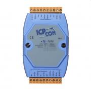 LR-7080 - Módulo RS-485 DCON, Entrada Contador/Frequência, 2 Saídas para Alarme