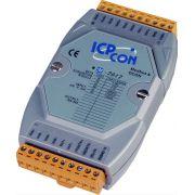 LRM-7017 - Módulo DAQ RS-485, ModBus RTU/ASCII, 8 Entradas Analogicas, 16-BIT, mV/V/mA