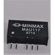 MAU117 - Conversor Dc-Dc Encapsulado De 1W, Entrada (10.8~13.2 Dvc) Saída (9Vdc/55Ma)