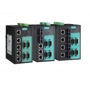 NPORT S8458-4S-SC-T - Switch Gerenciável E Servidor Serial, 4 Rs-232/422/485, 410/100Baset(X), 4 100Basef(X) Monomodo Sc, Temp Op -40~85°C