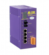 NS-115FT - Switch Ethernet Industrial Não Gerenciável 4 10/100Base-T(X) E 1 100Base-Fx Multimodo, St