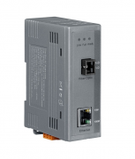 NS-200WDM-A - Conversor Industrial Ethernet 10/100Base-T(X) Para 100Base-Fx  Monomodo, Sc, 1 Fibra