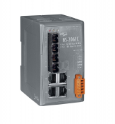 NS-206FC - Switch Ethernet Industrial Não Gerenciável 4 10/100Base-T(X) E 2 100Base-Fx