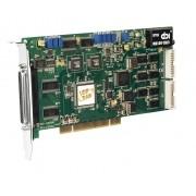 PCI-1202HU - Cartão Pci Universal Multifunção, 32 Canais A/D 12-Bit 44Ks/S, 2 D/A 12-Bit