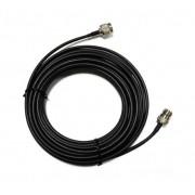 RFC-NM-SMR-1000 - Cabo Para Antena Wireless, Conectores N Macho Para Rp-Sma Macho, 10 M