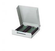 SCB-100 - Caixa Metálica Para Conexão De Sinais Com 100 Bornes, Com Blindagem
