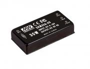 SKM30 - Conversor DC/DC Encapsulado 30Watts, Saída Única Regulada