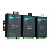 TCF-142-S-SC-T - Conversor Serial Rs-232/422/485 Para Fibra Monomodo, Conector Sc,40Km, Suporta Anel Em Fibra, Temperatura Op -40 A 75ºc