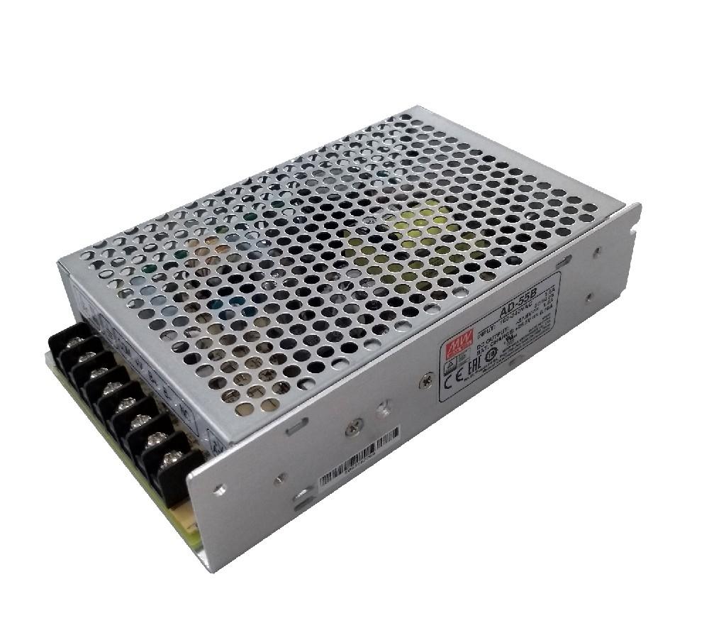 ADD-155 - Fonte de Alimentação Chaveada 155Watts, Saída Dupla com Carregador de Bateria, Função UPS