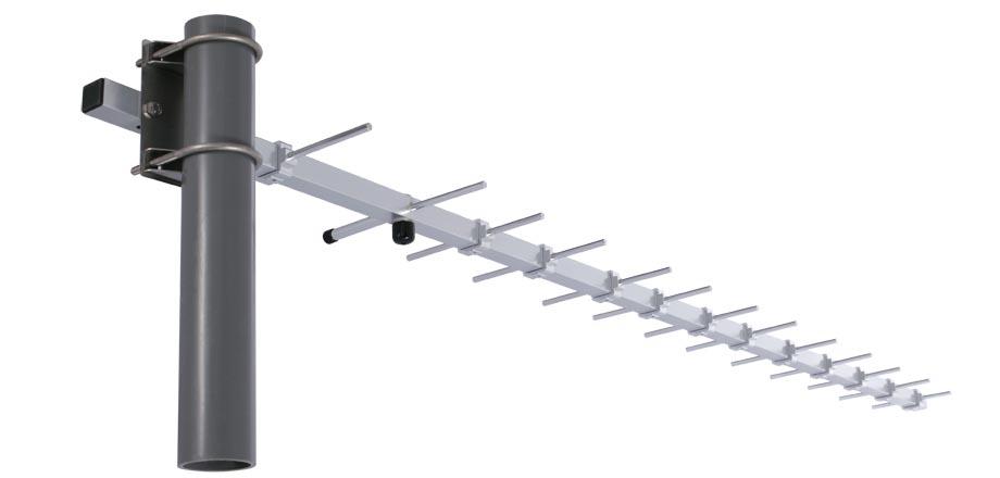 ANT-WSB0.9-YNF-12 - Antena Para Wlan 900 Mhz, Direcional Yagi, 12 Dbi, Conector N Fêmea,Ip65