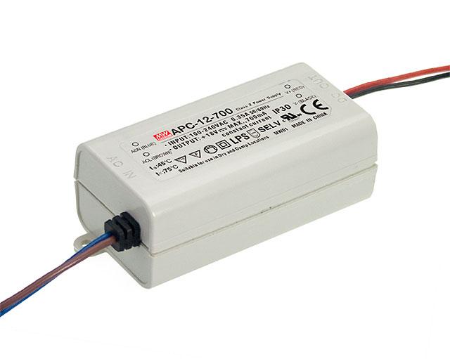 APC-12 - Fonte de Alimentação Chaveada 12Watts para LED