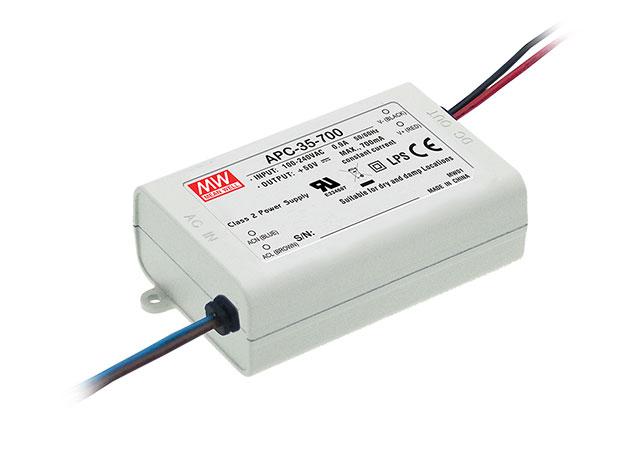 APC-35 - Fonte de Alimentação Chaveada 35Watts para LED