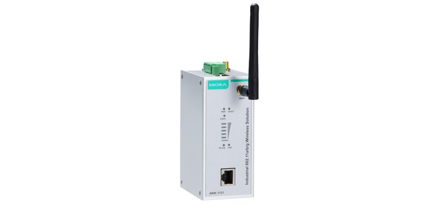 AWK-1121-PoE-US - Wireless Industrial Cliente Ieee 802.11A/B/G, Banda Us, 1X Poe802.11Af 10/100Base-T(X)