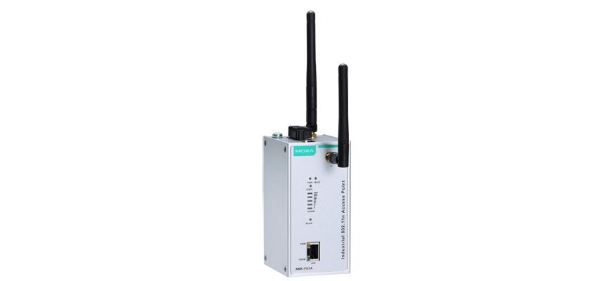 AWK-1131A-EU - Wireless Industrial Ap/Cliente Ieee 802.11A/B/G/N, Banda Eu, Mimo Até300Mbps, 1X10/100/1000Base-T(X)