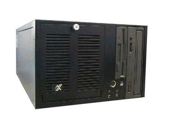 "AX60501TB - Gabinete Tipo Shoebox 6 Slot'S Preto - (1 X 5.25"" / 1 X 3.5"" )"