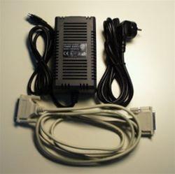 C32050T - Kit Com Fonte De Alimentação E Cabo Db25M Para Db25F Com 10 Pinos, 2M,Até 100 Metros
