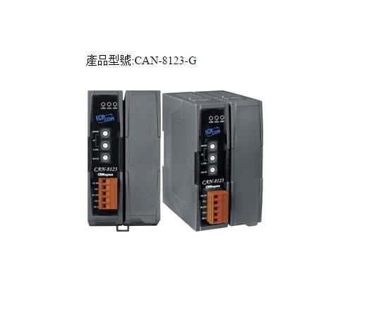 CAN-8123-G - Módulo Remoto Can Open Slave, 1 Slot, Para Módulos Das Séries I-8K E I-87K