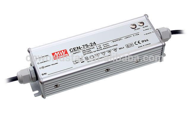 CEN-75 - Fonte de Alimentação Chaveada 75Watts para LED
