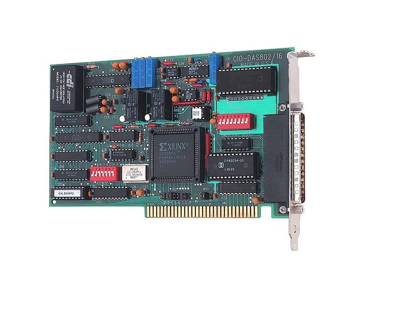CIO-DAS802/16 - Placa Conversora A/D, 8Ea 16 Bits, 7Dio, 3Ctr