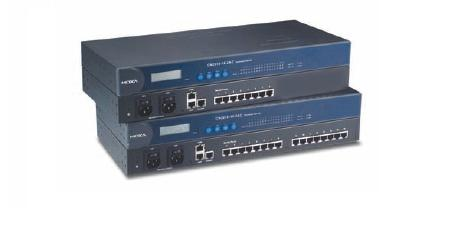 CN2650I-8 - 8 Ports Rs-232/422/485 Terminal Server With Db9 Connector, 100-200VacInput With Adapter With 2 Kv Isolation