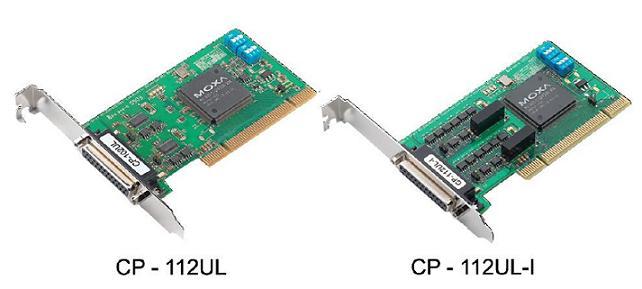 CP-112UL-DB9M - Placa Serial Pci Universal, Perfil Baixo, 2 Portas Rs-232/422/485,Inclui Cabo Db9 Macho